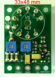 6E2 170-250V High Voltage Magic Eye Tube Audio Level Indicator VU Meter