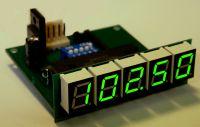 Digital display for radio receivers TES