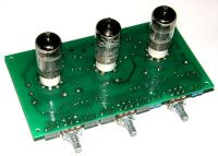 """3 Band Preamplifier - Double Bass, Bass, Treble. Dimensions are 162mm x 84mm x 25mm high / 6.4"""" x 3.3"""" x 1"""" high (without tubes) TES"""