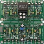 Module AB-Oi for 8 tubes, PP & PPP amps, with a 6.3VAC isolation transformer for use in amps where the 6.3VAC filament supply is referenced to ground. Also requires bias supply from the amps circuit. TES