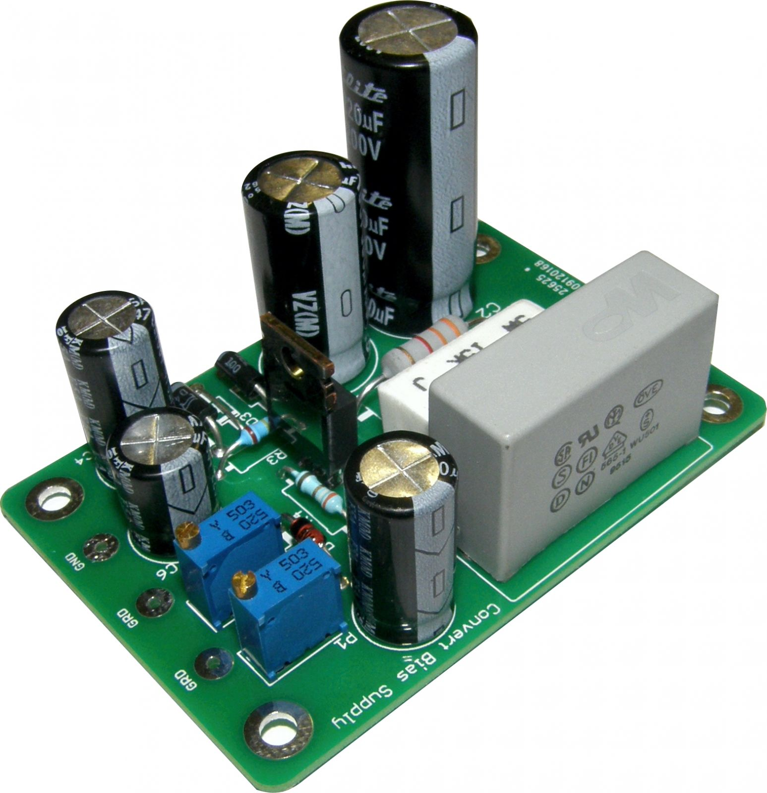 Variable Voltage Power supply with tracking Bias PSB-1
