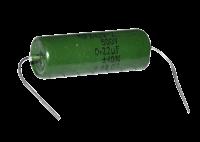 Russian PIO coupling OIL capacitors, 0.22uF 500V